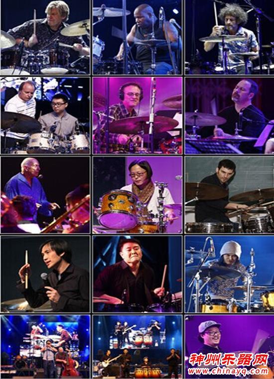 国际顶级鼓手节爵士鼓高峰论坛十月强势登陆北京