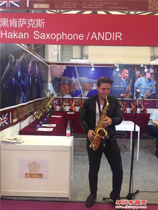 ANDIR(安迪尔)乐器登陆2018上海乐器展,美籍乐手动人演绎沸腾全场(展位号E5D43)