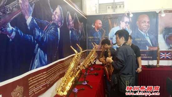 2018上海乐器展:萨克斯乐声远扬  ANDIR展台火爆升级
