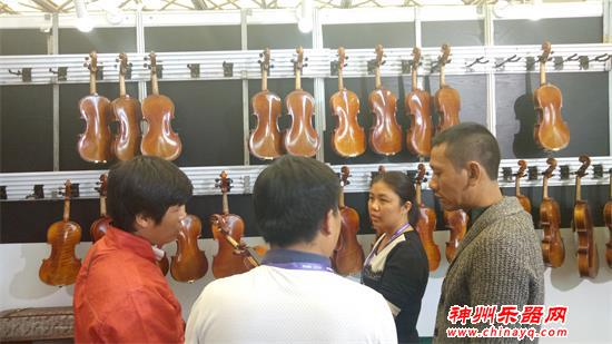北京知音手工提琴制作室携新品亮相2018上海乐器展