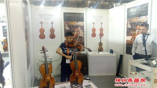 空前火爆!北京乐器展第二天精彩荟萃