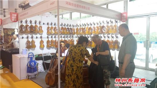 神州看展:2019北京乐器展打击乐、提琴馆风采展示