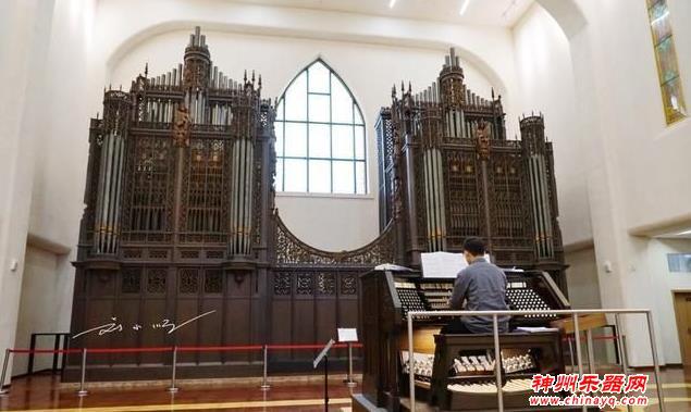 """亚洲""""最大""""的管风琴在厦门"""
