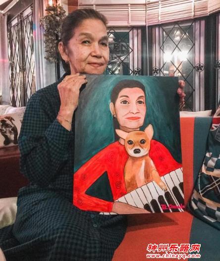 71岁的泰国老奶奶爆红网络