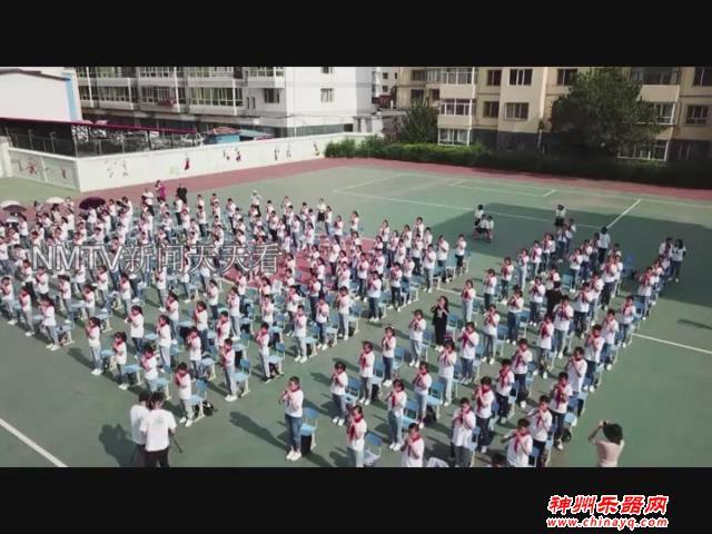 """校园里的""""特色课"""":民族乐器""""泥哇呜""""引进呼和浩特校园"""