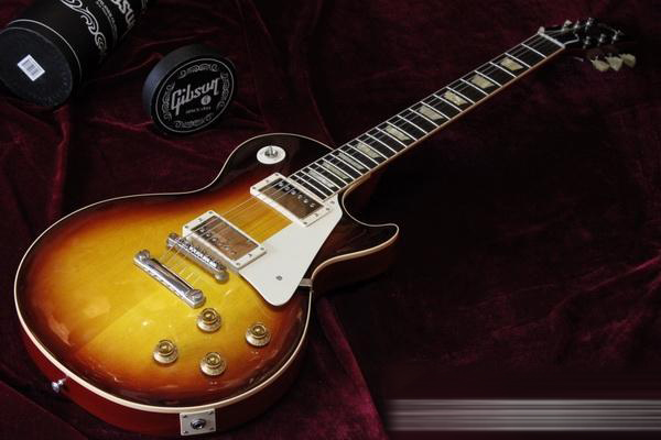 gibson custom 1958 lp gloss bb/吉普森电吉他图片