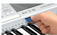 卡西欧 CASIO CT-599 电子琴 多种教学功能 61键力度防钢琴键盘
