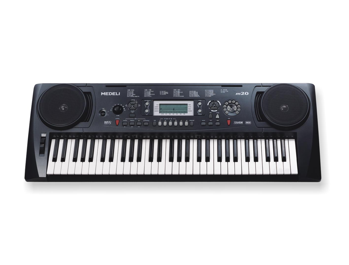电子琴键盘认识64图解