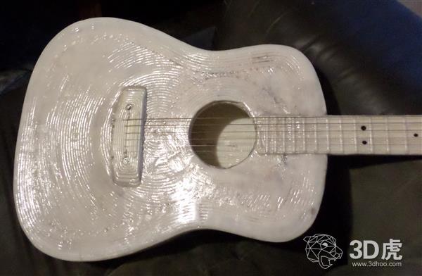 全球首把3D打印木吉他 给你一场不插电音乐会
