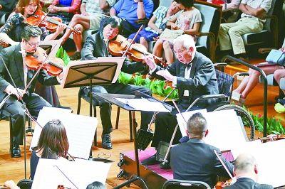 中国交响乐团建团六十周年庆典音乐会奏起中国交响