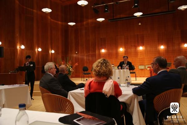 中央音乐学院院长俞峰受邀参加丹麦皇家音乐学院150周年系列庆典活动
