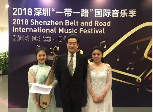 中西乐器完美融合交流 琵琶演奏家于源春登场深圳国际音乐节